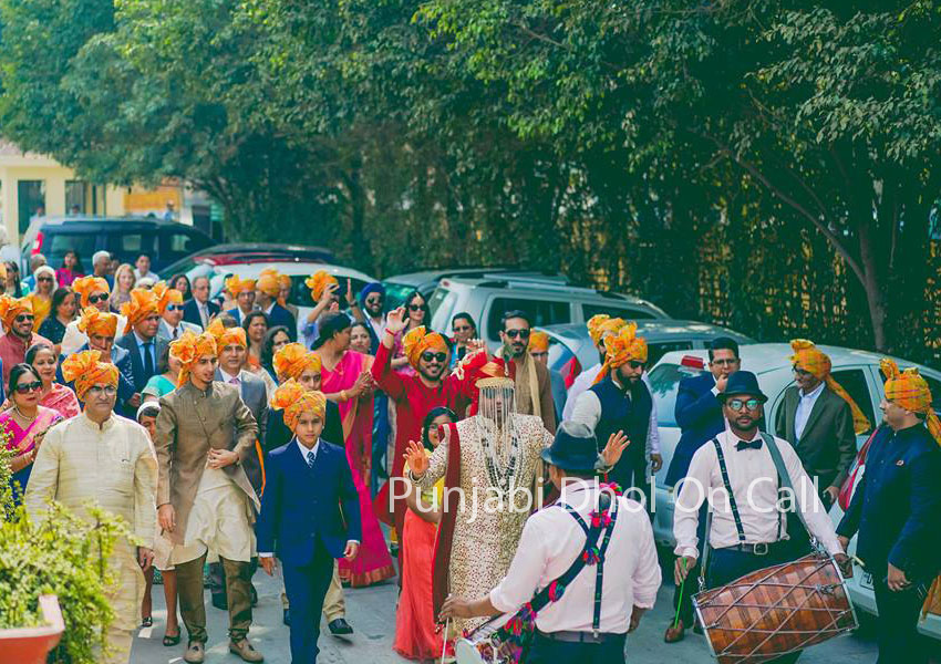 Punjabi Dhol For Weddings
